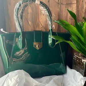 Handbags - Emerald green goddess bag ❤️ NEW